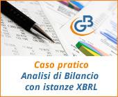 Caso pratico: Analisi di Bilancio solo con istanze XBRL