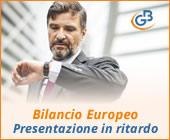 Bilancio Europeo 2019: presentazione in ritardo e sanzioni