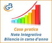 Caso Pratico: Nota Integrativa per Bilancio in corso d'anno
