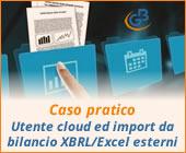 Caso pratico: Utente cloud ed importazione da bilancio XBRL ed Excel esterni