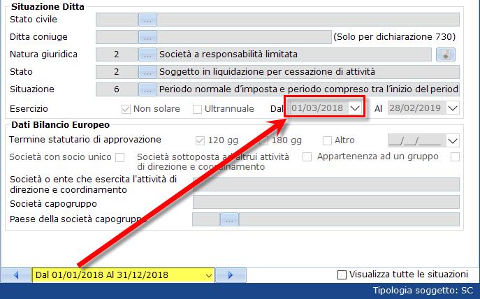Bilancio XBRL: errori frequenti di validazione – controllare date in anagrafica