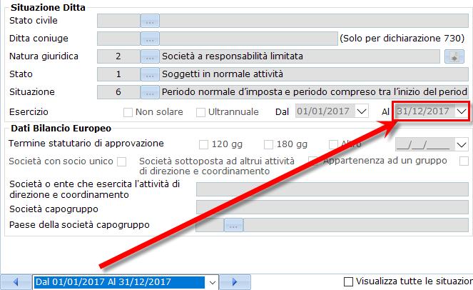 Bilancio XBRL: errori frequenti di validazione – date in anagrafica non consecutive