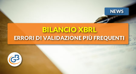 News - Bilancio XBRL: errori di validazione più frequenti