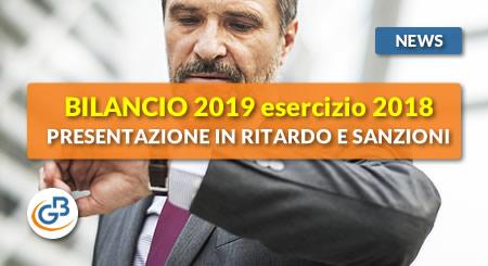 News - Bilancio Europeo 2019: presentazione in ritardo e sanzioni