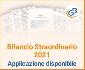 Bilancio Straordinario 2021: applicazione disponibile