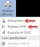 Bilancio XBRL: Divieto di inserimento immagini: opzione stampe ufficiali PDF
