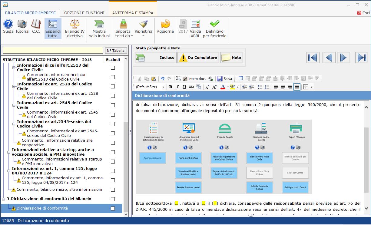 Bilancio XBRL: Divieto di inserimento immagini: supportati solo formati html e xhtml