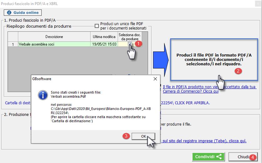 La Camera di Commercio non accetta il file PDF/A, che fare?: convertire in pdf/a-1b