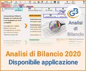 Analisi di Bilancio 2020: disponibile applicazione