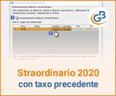 Bilancio Straordinario 2020 utilizzando la tassonomia precedente